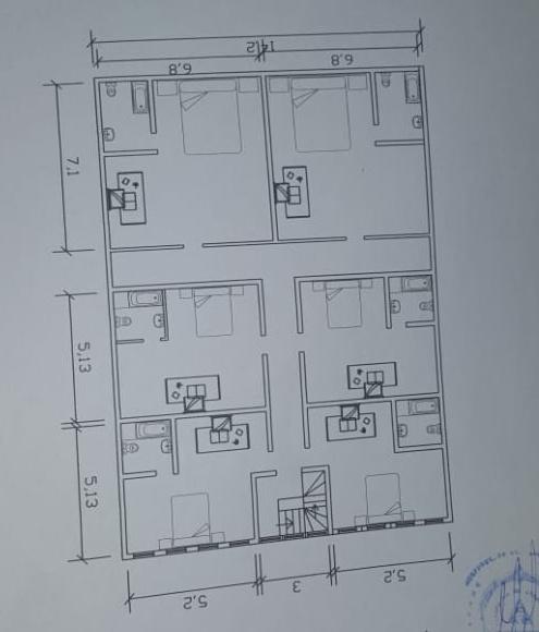 casablanca 2nd floor plan supermercado for sale